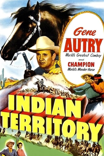 Poster of Indian Territory