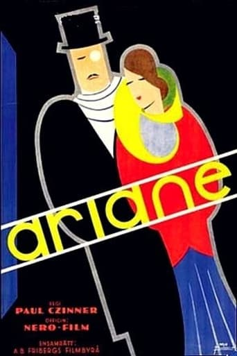 Poster of Ariane, jeune fille russe