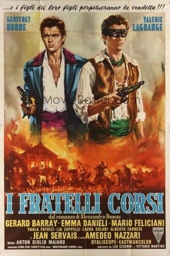 Poster of The Corsican Brothers