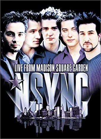 Poster of *NSYNC - Live from Madison Square Garden