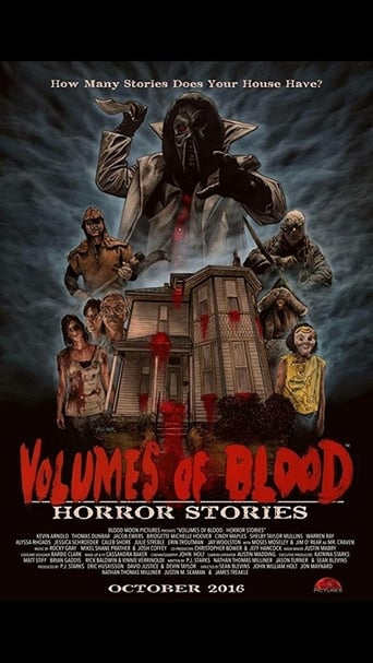 Poster of Volumes of Blood: Horror Stories