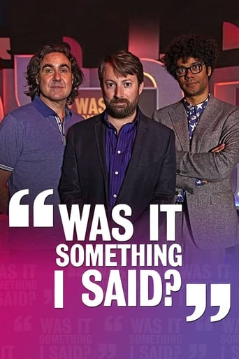 Poster of Was It Something I Said?
