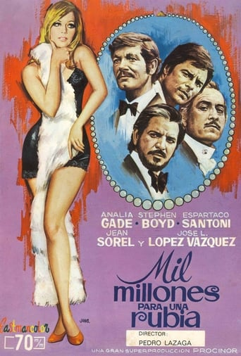 Poster of One Billion for a Blonde
