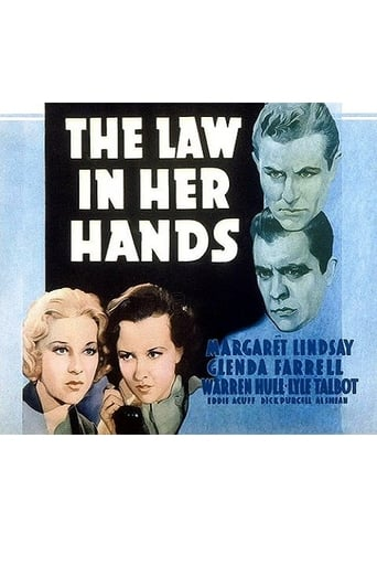 Poster of The Law in Her Hands