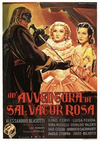 Poster of Un'avventura di Salvator Rosa