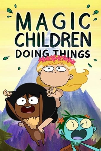 Poster of Magic Children Doing Things