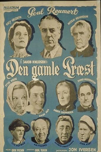 Poster of Den gamle præst