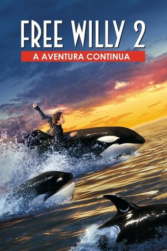 Free Willy 2: A Aventura Continua - Poster
