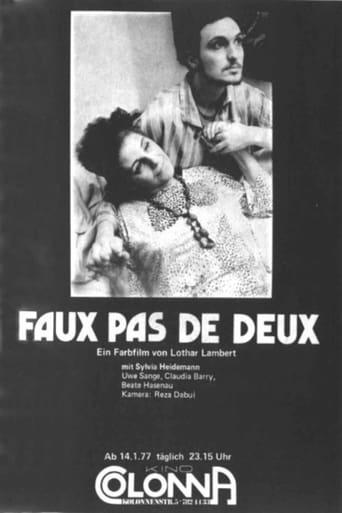 Poster of Faux Pas de Deux