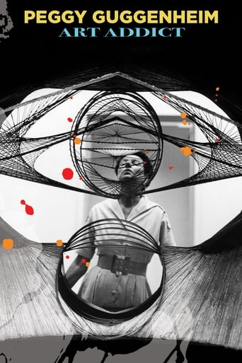 Poster of Peggy Guggenheim: Art Addict