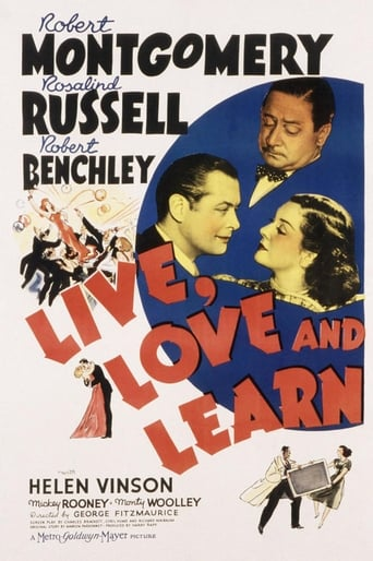 Poster of Live, Love and Learn