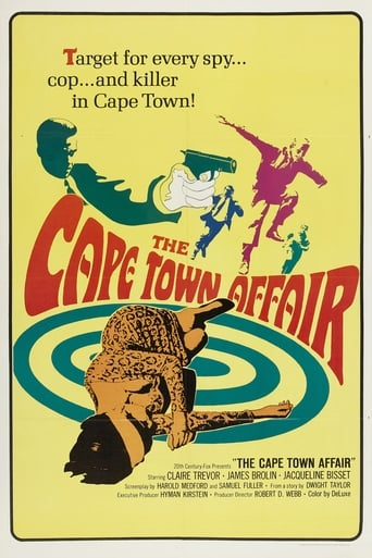 Poster of The Cape Town Affair