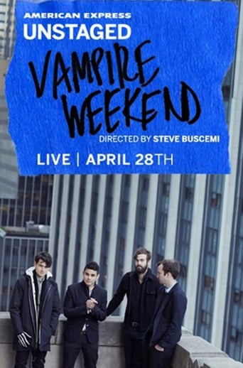 Poster of AMEX Unstaged Presents: Vampire Weekend