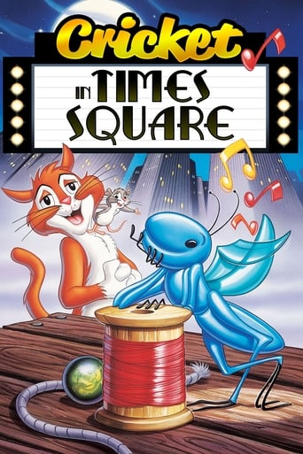 A Cricket in Times Square Movie Poster