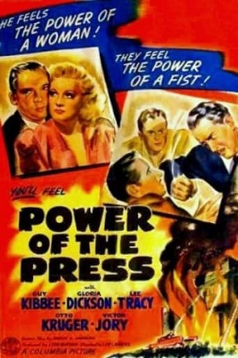Poster of Power of the Press