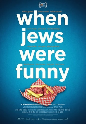 Poster of When Jews Were Funny