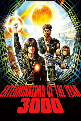 Poster of Exterminators of the Year 3000