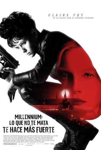 Ver Millennium: Lo que no te mata te hace más fuerte peliculas online