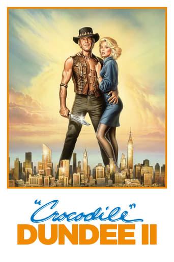 Poster of Crocodile Dundee II
