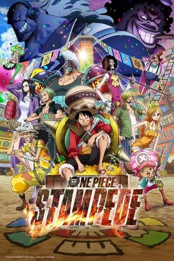 portada One Piece: Estampida