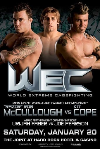Poster of WEC 25: McCullough vs. Cope