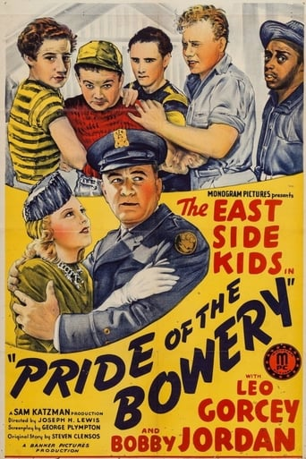 Poster of Pride of the Bowery
