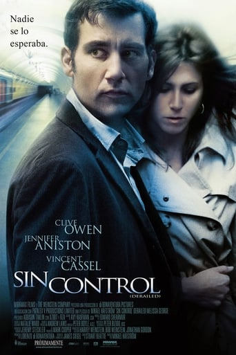 Poster of Sin control (Derailed)