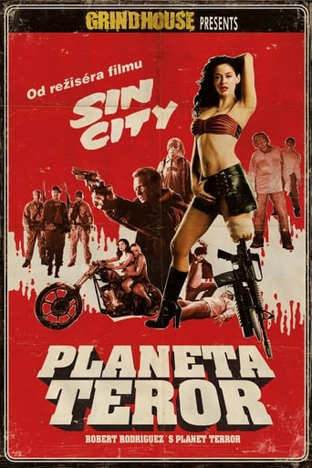 Poster of Grindhouse: Planeta Teror