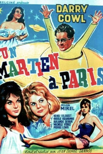 Poster of A Martian in Paris
