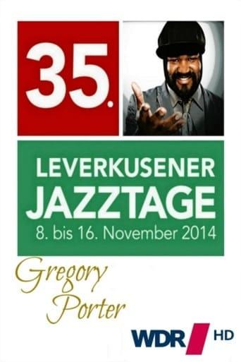 Ver Gregory Porter -35° Leverkusener Jazztage pelicula online
