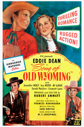 Poster of Song of Old Wyoming