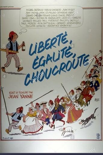 Poster of Liberté, égalité, choucroute