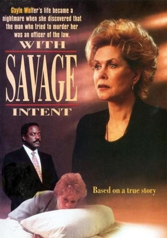 Poster of With Savage Intent