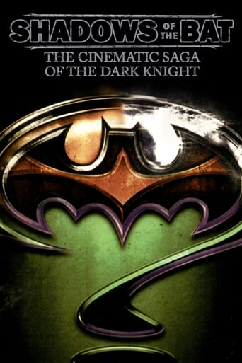 Poster of Shadows of the Bat: The Cinematic Saga of the Dark Knight