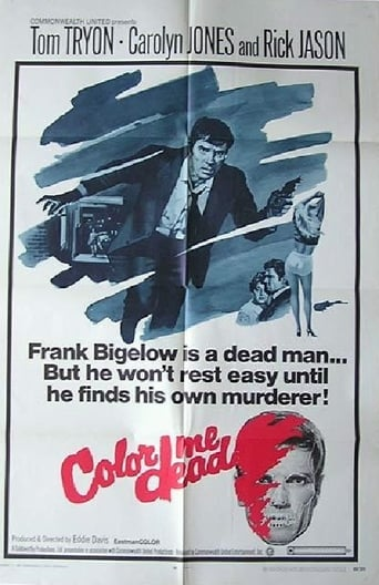 Poster of Color Me Dead