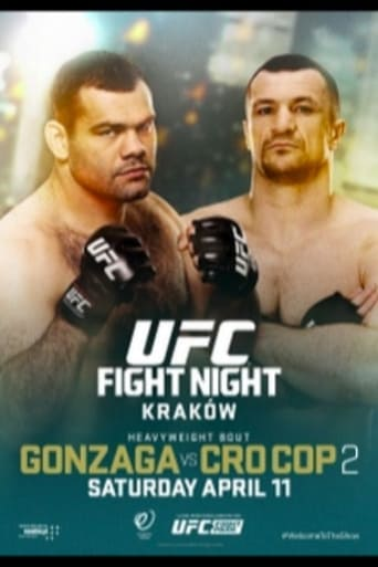 Poster of UFC Fight Night 64: Gonzaga vs. Cro Cop 2
