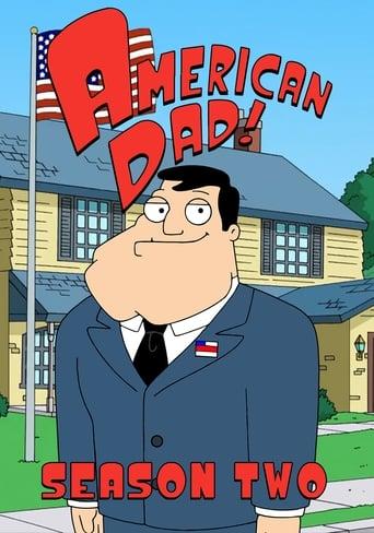 American Dad! 2ª Temporada - Poster