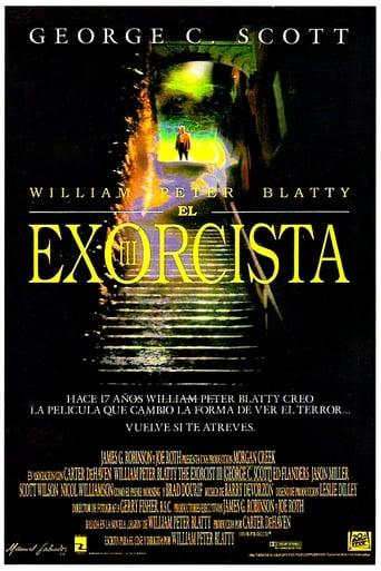 Poster of El exorcista III
