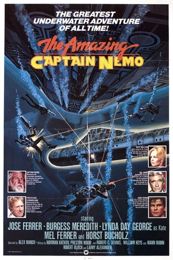 Poster of The Amazing Captain Nemo