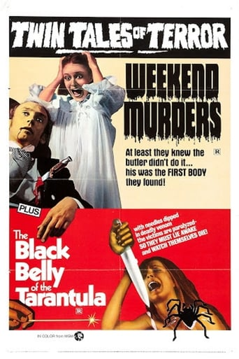 Poster of The Weekend Murders