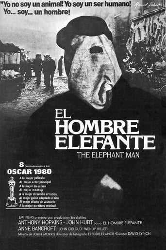 Poster of El hombre elefante