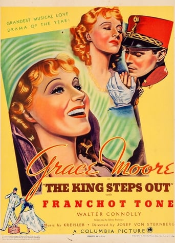 Poster of The King Steps Out