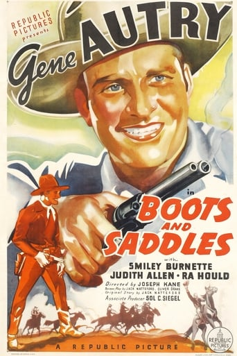 Poster of Boots and Saddles