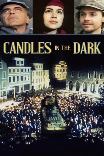 Poster of Candles in the Dark