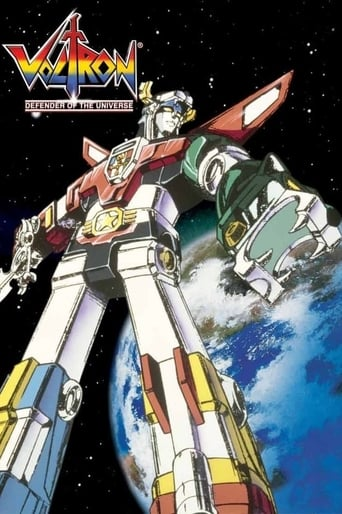 poster of Voltron: Defender of the Universe