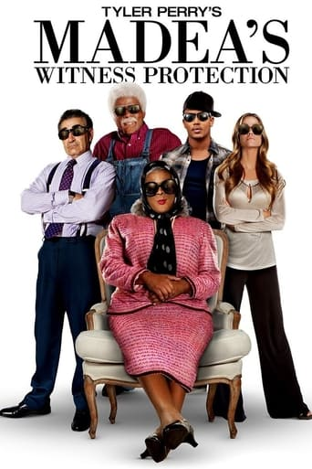 Madea's Witness Protection (2012) - poster