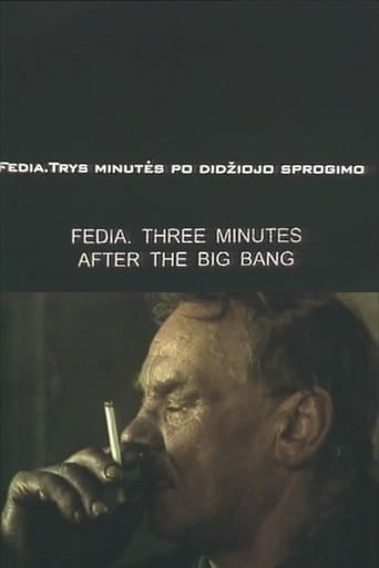 Fedia. Three Minutes After the Big Bang Movie Poster