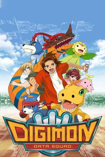 Poster Digimon: Data Squad