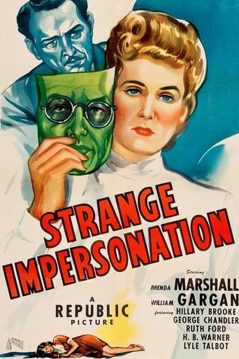 Poster of Strange Impersonation