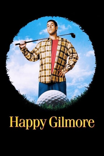 Official movie poster for Happy Gilmore (1996)
